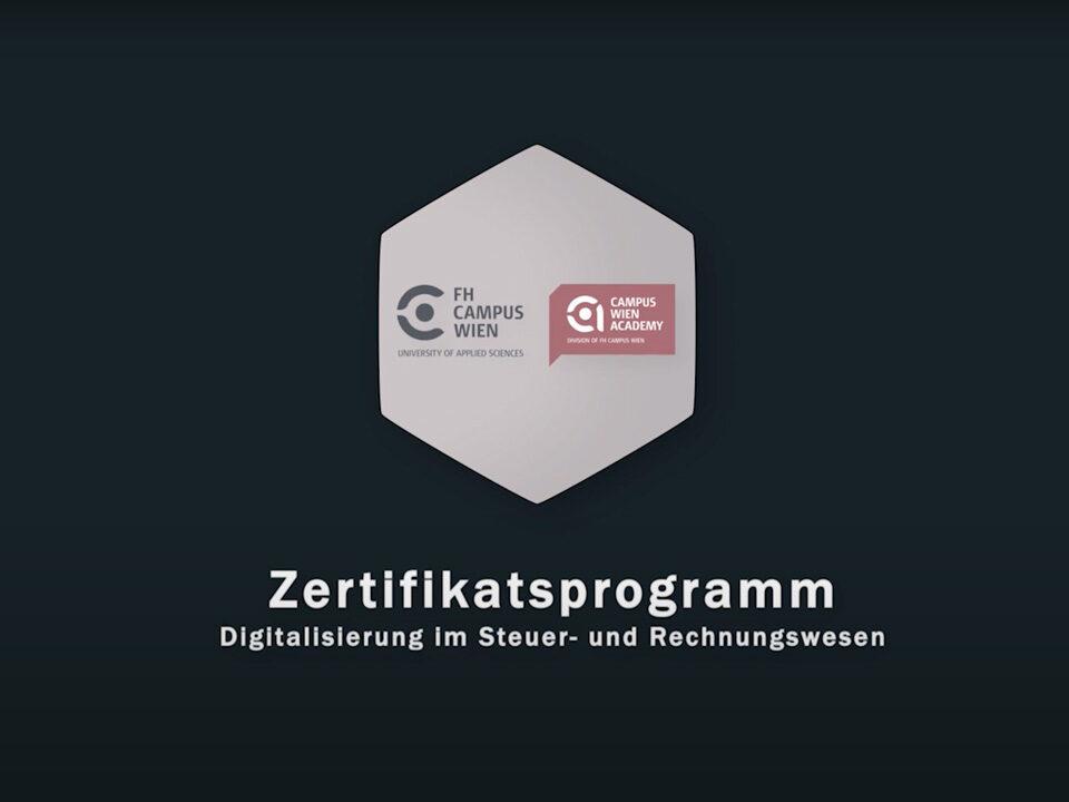 Zertifikatsprogramm Digitalisierung im Steuer- und Rechnungswesen
